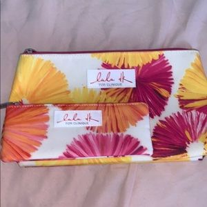 Matching set of Clinique bags